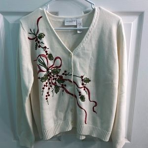 New w/o tag Liz Claiborne holiday sweater 🌸